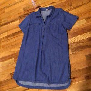 Woman's Old Navy Jean Dress